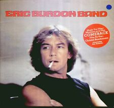 "ERIC BURDON BAND "" MUSIC FOR FILM COMEBACK "" LP NUOVO 1982 SQUIRE U.S.A. RARO!"