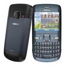 Nokia  C3-00 - Slate Gray (Ohne Simlock) Smartphone