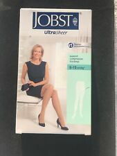 JOBST Medical Compression Stockings - 8-15 mmHg - Waist CT - Silky Beige - Plus