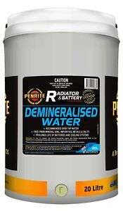 Penrite Demineralised Water 20L fits Citroen SM 2.7, 2.7 Injection, 2.9 Autom...