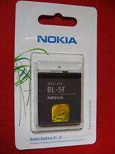 BATTERIA NOKIA-BL-5F- 6210-6710-6290-E 65-N96-N95- ORIGINALE BLISTER