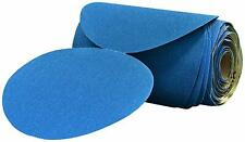 "3M 36200 Stikit Blue Abrasive Disc 6"", 40 Grit, 25 Roll"