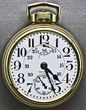 A REALLY AMAZING Waltham WIND INDICATOR 16s, 23 Jewel RR Grade PW_24-HOUR DIAL!!