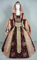 Medieval Renaissance Tudor Wedding Handfasting LARP Gown Dress Costume (MD-01)