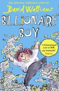 Billionaire Boy-David Walliams, 9780007371082