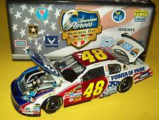 Jimmie Johnson 2007 Lowe's #48 American Heroes Power of Pride Stars Stripes 1/24