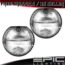 1995-1999 Dodge Neon Plymouth Neon Clear Lens Fog Lights - Left Right Pair(Fits: Neon)