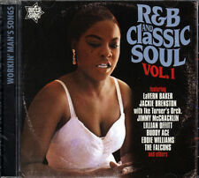 "R&B AND CLASSIC SOUL VOL 1  ""FROM THE CELLAR OF SOUL 1954-62 - 24 CLASSY TRACKS"""