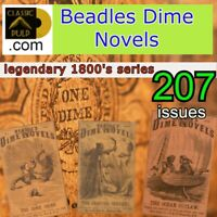 Beadles Dime Novels collection | 207 action, adventure Digital Books to read