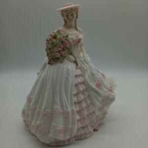Coalport The Four Flowers Rose Figurine 2530/12500 (#H1/22)