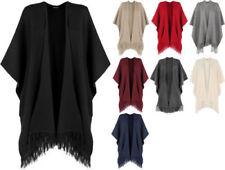 Regular Size Acrylic Solid Coats & Jackets for Women