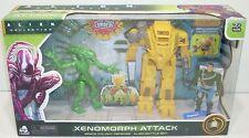 Alien Collection SPACE COLONY DEFENSE BATTLE SET Xenomorph Attack NEW Loader