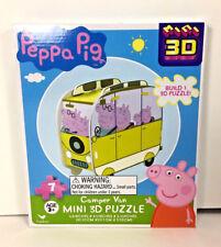NEW Cardinal PEPPA PIG Mini 3D Puzzle 7pc CAMPER VAN MUMMY DADDY GEORGE Toy