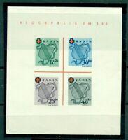 Französiche Zone, Baden, Wappen, Block 2 ohne Gummi (*)
