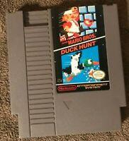 Super Mario Bros / Duck Hunt - NES Nintendo Video Game - TESTED - WORKING