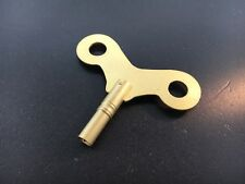 31 Day Clock key Brass Wide Wing for Korean Clocks