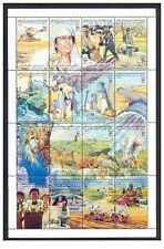 1993- Libya- The 24th Anniversary of September Revolution- Minisheet MNH