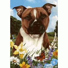Summer House Flag - Pit Bull Terrier 18254