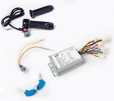 500 W 24 V Electric Control kit w Reverse key & throttle reverse f Go-Kart Motor
