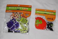 New Halloween Crafts Foam Owl Kit Makes 30 & Felt Jack-O-Lantern Kit Makes 12
