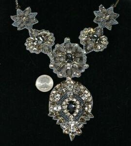 $225 -Anthropologie Deepa Gurnani Rhinestone Crystal Beaded NECKLACE