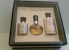 Valentino Rock N' Rose 3 Piece Gift Set 1.6 oz Edp Spray 6.7 oz Lotion 3.3 Gel