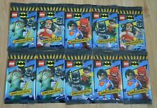 Lego® Batman™ Series 1 Trading Card Game 10 Booster/50 Cards New &