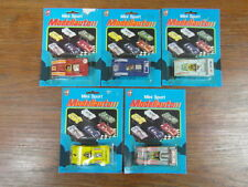 5 x TINTOYS (?)  MINI SPORT MODELLAUTO 1975 (genre CORGI MATCHBOX) CARDBOX (2)