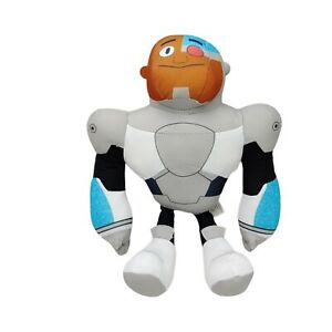 DC Comics Teen Titans Go! Cyborg Plush Soft Toy Doll Washed and Clean 34cm