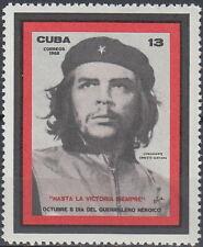 X Che Guevara 1968 MNH-3 Euro