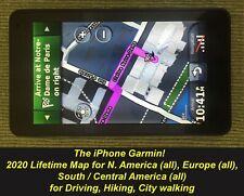 Garmin NUVI 3790LM 2021! maps N. America, Europe (all), S. America (all)