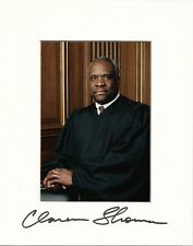Clarence Thomas Signed Photograph