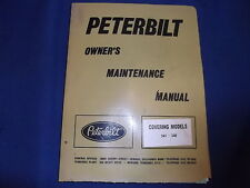 PETERBILT 341 348 TRUCK SERVICE SHOP WORKSHOP REPAIR BOOK MAINTENANCE MANUAL