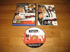 PS2 game - Singstar Rocks (complete PAL)