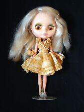 1972 BLYTHE Doll Kenner Blonde Hair Blinks Changes Eye Color Rare No Cracks Mint