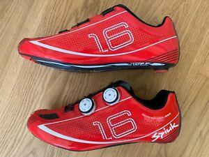 Spiuk 16 Road Carbon Shoes Size EUR 46  US 11 1/2