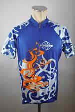 Shimano Fashion Radtrikot blau cycling Fahrrad Rad Trikot Gr. XXL BW 60cm PE1