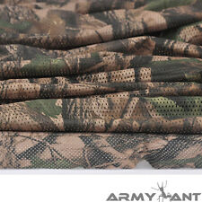 """Mossy Oak Camo Camouflage Net Cover Army Military 60""""w Mesh Fabric Cloth"""