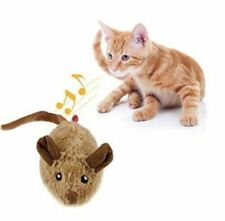GiGwi Pet Droid Interactive Mouse Cat Toy Motion Activated Moves & Sounds, New