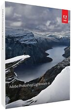 Adobe Photoshop Lightroom 6 Win/MAC Commercial Licence Download (No CD)