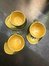 "SHAWNEE USA Cups & Saucers, ""Corn King"""