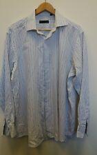 Mens BHS Shirt Size 16 Purple <J8209