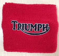 TRIUMPH RESERVOIR COVER WRISTBAND SOCK RED TRIUMPH BONNEVILLE TIGER ROCKET 675