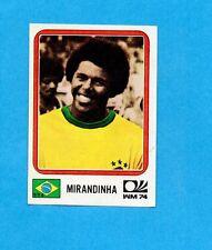 MONACO/MUNCHEN 74-PANINI-Figurina n.168- MIRANDINHA - BRASILE -Recuperata
