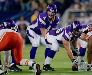 Brett Favre Minnesota Vikings NFL Licensed Unsigned Glossy 8x10 Photo I