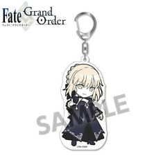 Pic-Lil Fate/Grand Order Trading Acrylic Keychain 8 Saber Altria Alter Dress Ver