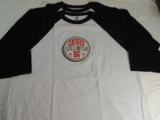 Lot of 2 Certified OG Obvious Giant Crew T-Shirt White/Black Raglan 3XL XXXL