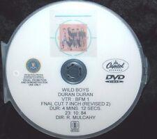 DURAN DURAN Wild Boys (Final Cut 7Inch Vers 2) Promo Music Video DVD Group Cover