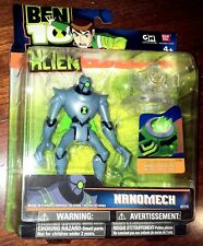 "BEN 10 4"" NANOMECH ACTION FIGURE BRAND NEW NIB UNOPENED 2010"