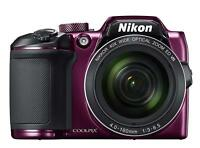 Nikon B500PU COOLPIX B500 Digital Camera Optical 40 zoom 16 million pixels PLUM